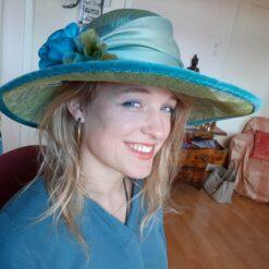 Meisje-hoed